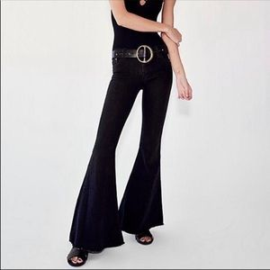 Free People Super Flare Jeans!
